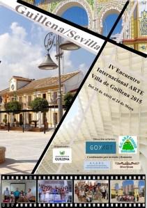 """Afiş  """"Întâlnirea Internaţională de Artă Villa de Guillena"""""""