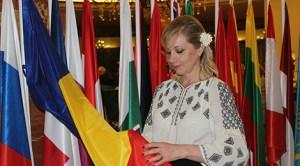 Florica Cristina Vîlcu, soţia ambasadorului României la Madrid