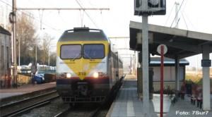 Tren în Belgia (Foto: 7Sur7)