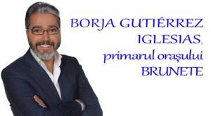 Borja Gutierrez, primarul oraşului Brunete