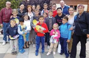 Copiii românilor din Bilbao sărbătoriţi în Barakaldo