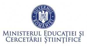 Ministerul Educaţiei şi Cercetării Ştiinţifice