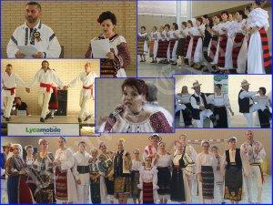 Secvenţe de la Festivalul Folcloric de Cântec şi Joc Românesc din Pinto