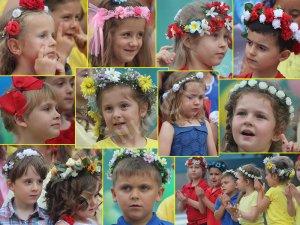 Secvenţe de la Ziua Copiilor în Parcul Salvador Allende din Coslada