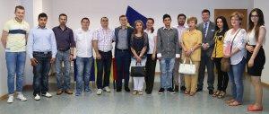 Vizita delegaţiei liberale la Zaragoza