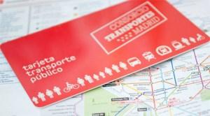 Abonament de transport în comun în Comunitatea Madrid