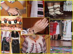 Motive tradiţionale româneşti la spectacolul Descoperă România- Tradiții și obiceiuri, organizat în Tres Cantos (clic pe imagine pentru mărire)