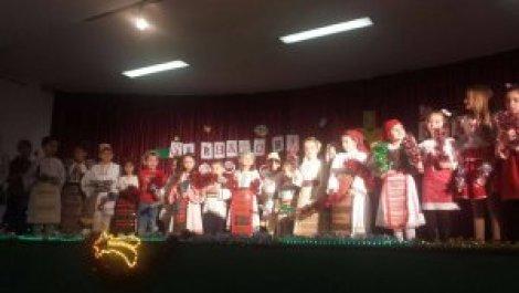 """""""E vremea colindelor"""", spectacol de Crăciun în localitatea Herencia"""