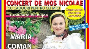 Madrid: Concert de Moş Nicolae în Campo Real cu solista maramureşeană Maria Coman