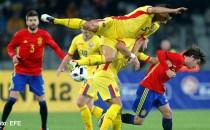 Fotbal: România a terminat la egalitate 0-0 cu Spania, actuala campioană europeană