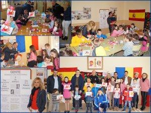 """Secvenţe de la """"Atelierul  de creaţie pentru copii"""" din Quintanar de la Orden"""