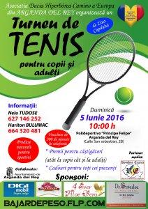 Afiş Turneu de tenis Arganda del Rey 2016