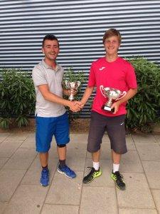 Florin Giabac şi Andrei Bulumac, cei doi finalişti ai turneului