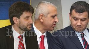 Aurelian Mihai, Daniel Ţecu şi Eugen Tomac