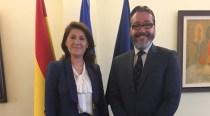 Madrid: Întrevedere a ambasadorului Gabriela Dancău cu Borja Gutiérrez Iglesias, primarul oraşului Brunete
