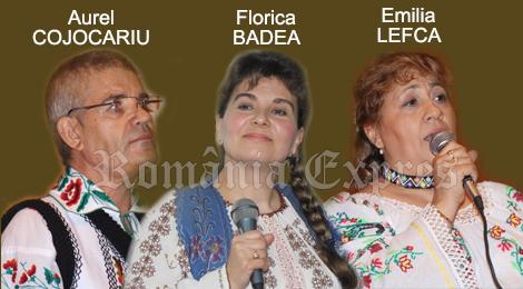 Aurel Cojocariu, Florica Badea şi Emilia Lefca