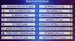 Liga Campionilor: Deținătoarea trofeului, Real Madrid, o va întâlni pe Napoli, formație la care joacă fundașul român Vlad Chiricheș