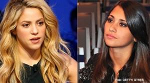 Shakira şi Antonella Roccuzzo