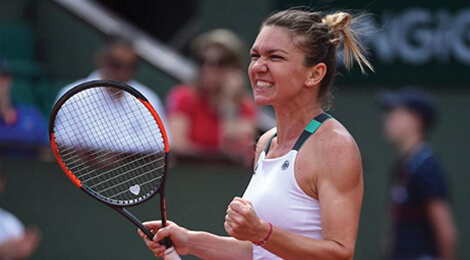Simona Halep la Roland Garros 2017