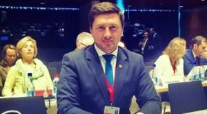 Deputatul Constantin Copdreanu la Luxemburg