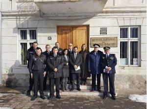 Enric Porcar şi delegaţia Primăriei din Castellón de la Plana în vizită la Târgovişte