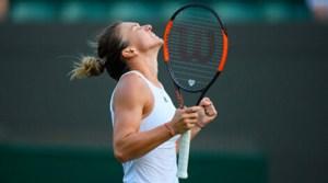 Simona Halep la Wimbledon