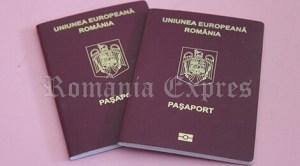 Paşaport simplu românesc
