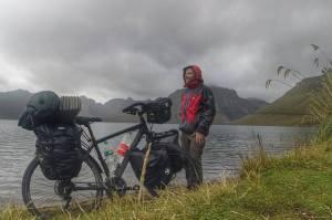 Radu Păltineanu la Laguna Caricocha - Ecuador
