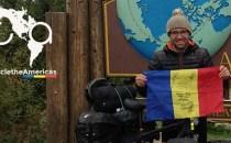 Povestea lui Radu Păltineanu, românul care de doi ani încearcă să traverseze cele două Americi pe bicicletă