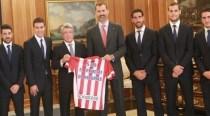 Regele Felipe al VI-lea al Spaniei invitat de onoare la inaugurarea noului stadion al lui Atletico Madrid, Wanda Metropolitano