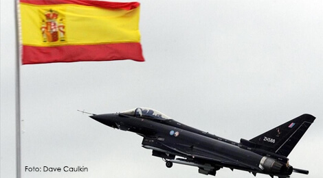 Avion Eurofighter Spaniol