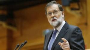 Mariano Rajoy în Parlamentul Spaniei