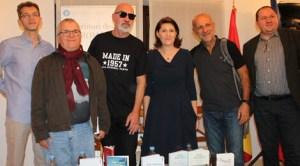 Serile culturale Acasă la Ambasadă cu scriitorii români Radu Pavel Gheo, Radu Aldulescu, Ioan T
