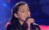 Flori Alexandra Cuţitaru îşi continuă marşul glorios spre finala concursului Vocea Spaniei Junior (La Voz Kids)
