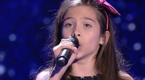 Melani, câştigătoare Voce Spaniei Junior