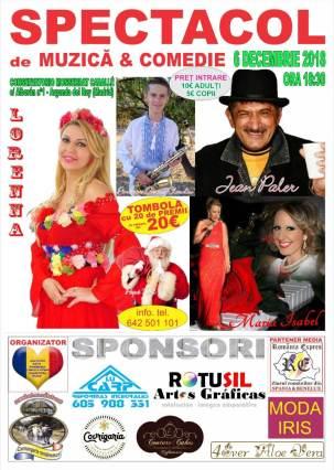Afis spectacol de Craciun in Arganda del Rey