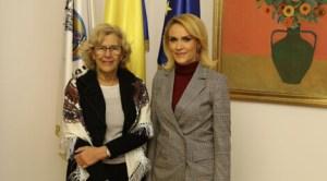 Manuela Carmena şi Gabriela Firea