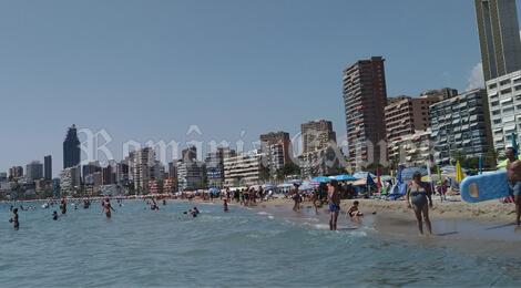 Turisti straini in Spania