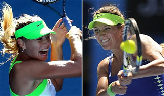 Australian Open 2012: Maria Sharapova şi Victoria Azarenka s-au calificat în finala competiţiei