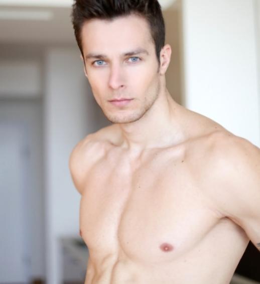 romanian men bogdan eastern european man model models uomo rumeno shirtless fitness model bucharest people