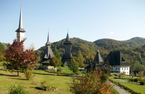 Barsana Monastery Gardens
