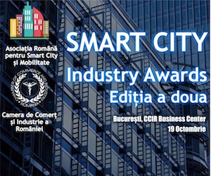 Smart City Industry Awards - 19 octombrie 2017