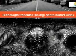 NO-DIG - Soluția pentru Smart City TRENCHLESS | ARSCM