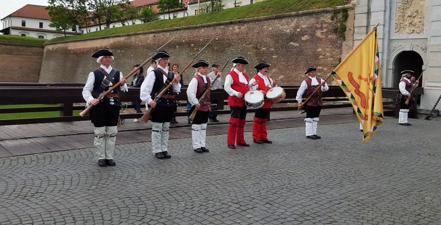 Changing of Guard Alba Iulia