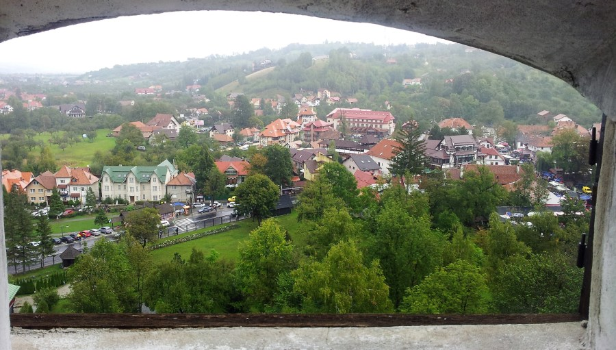castel bran panorama