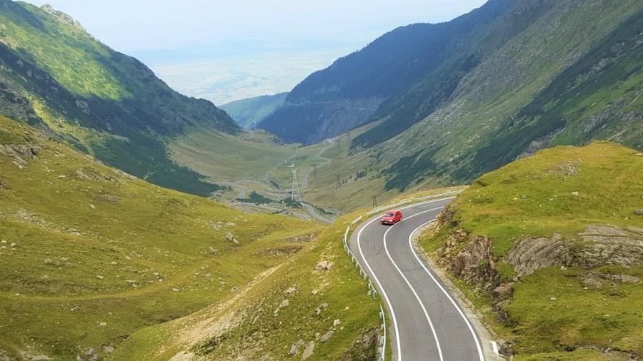 Trasee montane cu masina pe Transfagarasan