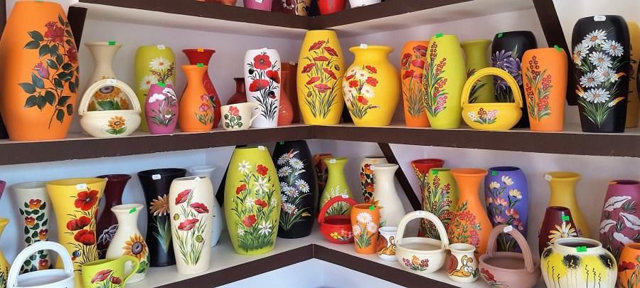 vaze horezu romania