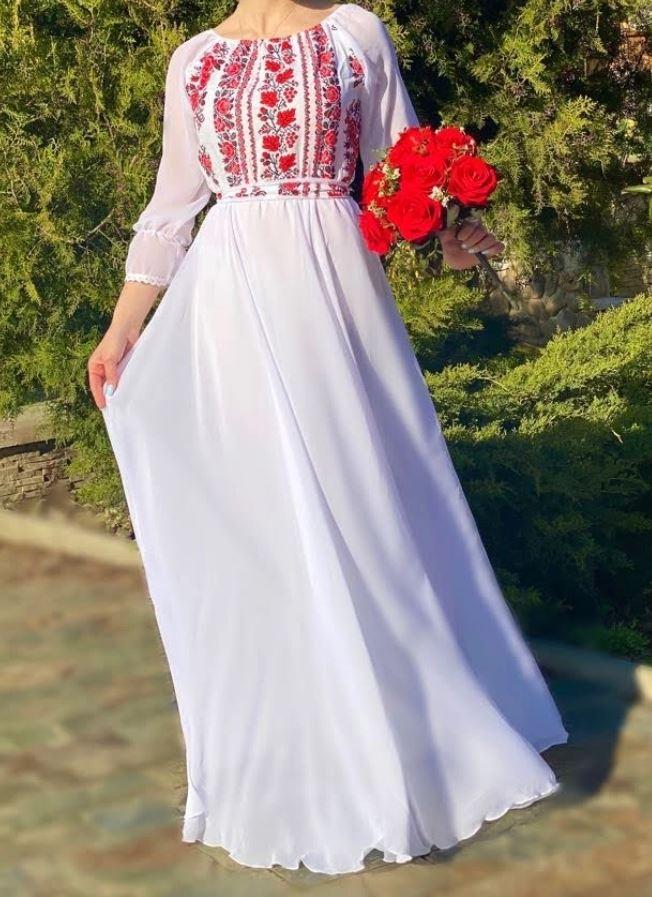 rochie traditionala cununia civila