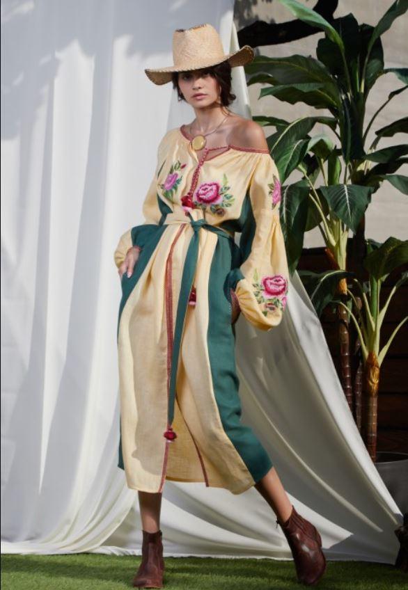 rochie ie stilizata lunga