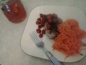 Roman's Cherry Chicken Dinner